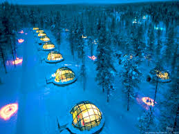 Hotel Igloo Village best place to stay and see the Northern