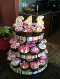 Easy Housewarming Party Idea Cupcakes Decorated With New House Number Using Birthday Candles It