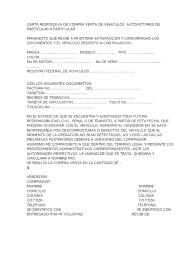 NOMBRE DEL TRÁMITE TIEMPO DE RESPUESTA Aviso De Venta De Vehículo De