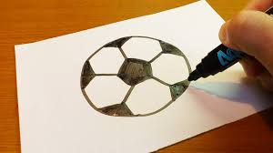 Very Easy How To Draw A Soccer Ball Art For Kids Hub Fo