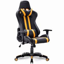 US $129.99 |Giantex High Back Executive Racing Style Gaming Chair Office  Computer Reclining Chair Modern Offfice Furniture HW55211YE-in Office  Chairs ...