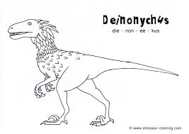 Dinosaur Popular Coloring Pages With Names