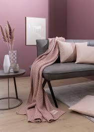 joop knit plaid decke