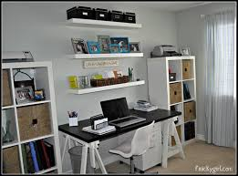 Interior Design Unique Storage With Exciting Ikea Office Wall Shelves