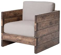 Rustic Armchairs And Accent Chairs By KKH Living