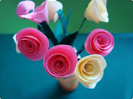 DIY How To Make A Paper Rose