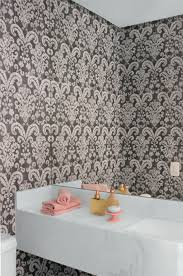 Matching Bathroom Wall Decoration Wallpapers