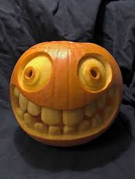 Minion Carved Pumpkins by I Was Just Gonna Have My Fake Pumpkins Lit But Now I Must Buy One