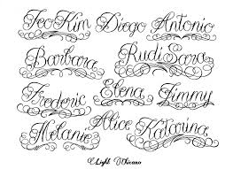 Chicano Tattoo Lettering Alphabet Best Of Alphabet CeiimageOrg