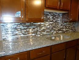 clear glass tile backsplash ideas home design ideas
