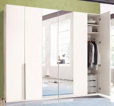 kleiderschrank schlafzimmer schrank new york weiß 270cm 6 türig neu