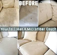 How to clean a microfiber couch I haven t tried it but thought