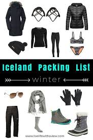 What To Pack For A Winter Trip In Iceland FREE Checklist