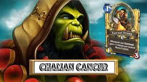 Shaman Overload Deck Loe by Chaman Cancer Trogg Trop Fort Hearthstone Fr Youtube