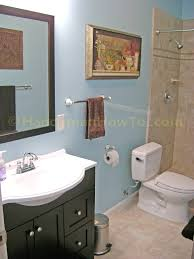 Basement Bathroom Design Photos by How To Finish A Basement Bathroom The Complete Series