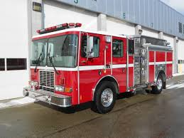 100 Hme Fire Trucks San Diego County Authority CA HME Inc