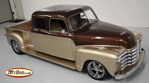 100 1950 Chevrolet Truck STRETCH CAB Restomod MyRodcom YouTube