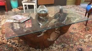 esstisch teak holz glas wohnzimmer tisch acheter sur ricardo