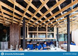 100 Wooden Ceiling Decorated By Birch Wood Modern Interior