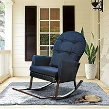 giantex rocking lounge chair recliners with