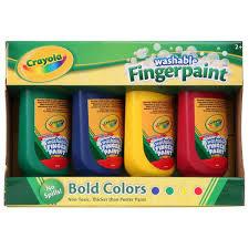 Crayola Bathtub Fingerpaint Soap Non Toxic by Crayola 4 Pack Finger Paint Big W