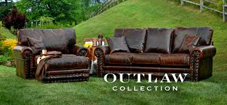 Alluring Western Leather Sofa Furniture Decor