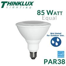thinklux led par38 17 5 watts 85 watt equal dimmable