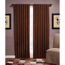 Walmart Eclipse Curtain Liner by Austin Microsuede Blackout Energy Efficient Curtain Panel