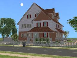 100 Three Story Houses Mod The Sims Cherry Lane A Two Story House With Three Bedrooms