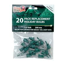 bright lights contractor replacement bulb set 3 5 v green