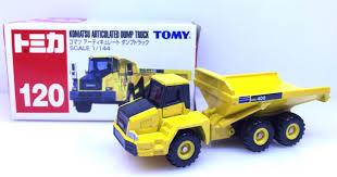 100 Articulating Dump Truck Takara Tomy Tomica Komatsu Articulated 120 Japan IMPORT
