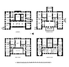 Highclere Castle First Floor Plan by English Country Cottage Plans Home Plan House Manor Design Kevrandoz