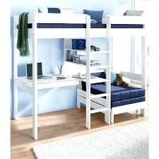 mezzanine canapé canape convertible en lit superpose mezzanine avec plan de travail