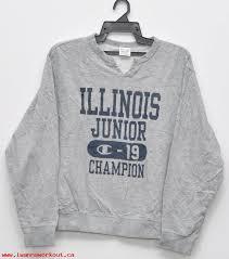 Mens Clothes Vintage Champion Sweater Unisex Adult Clothing Streetwear Classic Crewneck Windbreaker Medium Size