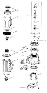 Blender Parts Vitamix Diagram Dolar Hoje Rh Info Ice Cream Vita Mix Mixer Model 0103