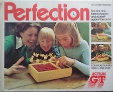 Vintage Perfection Board Game By Action GT 1980