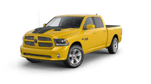 2016 Ram 1500 Stinger Yellow Sport Is The Pickup Truck Version Of ...