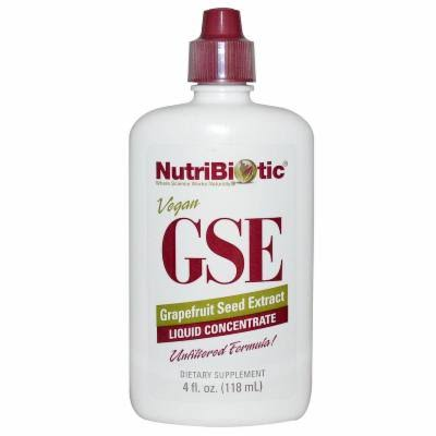 NutriBiotic GSE Liquid Concentrate Grapefruit Seed Extract