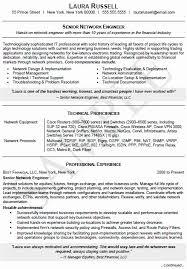 Sample Vp Of Network Engineering Resume Luxury Senior Engineer