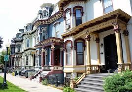 100 Saratoga Houses The Row Houses Of The Daily Gazette