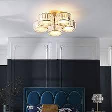 zndd licht wohnzimmer kristall deckenleuchte moderne minimalistische schlafzimmer runde kupfer deckenleuchte 72 5 21 5 cm wohnzimmer esszimmer bar