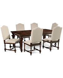 Furniture CLOSEOUT Cortwright 7 Piece Dining Set Expandable
