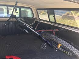 DIY Hitch Or Truck Bed Mounted Bike Carrier?- Mtbr.com Vestil Hitchmounted Truck Jib Crane 2019nissanfrontierspywheelshitchcamo The Fast Lane Stinger Hitch Find Lori Pinterest Utility Trailer Camper And Pintle Hitch Palmer Power Equipment Indianapolis Luverne Tow Guard For 2 212 3 Receiver Towing Where To Attach Ball On 1989 10ft Former Uhaul Truck Step Cap World Amazoncom Trimax Trz8al 8 Premium Alinum Adjustable With Getting Hitched Theories On Which Is Right For You Big Weatherproof Cargo Bag Fits 60 Trailer Tray Winterialcom Common Towing Mistakes Rv Magazine