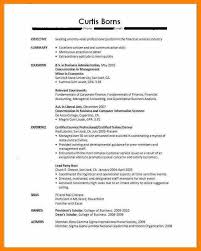 Without Work Experience Resume Sample For Fresh Graduate Best Solutions Of