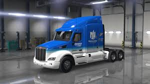 100 Kelley Blue Book Commercial Trucks Peterbilt 579 Nascar Skin ATS Mods American Truck Simulator Mods
