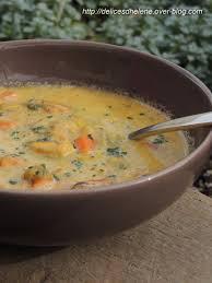 comment cuisiner des moules congel s soupe de moules au safran les délices d hélène
