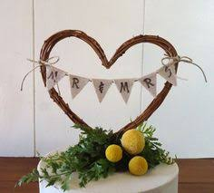 Find This Pin And More On Wedding Ideas Cake Topper Rustic Heart