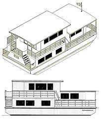 100 House Boat Designs Boats Funboats Pontoon S Plans For U