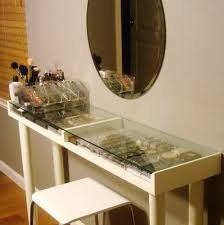 Makeup Vanity Table With Lights Ikea by Makeup Vanity Table Ikea Home Design Ideas