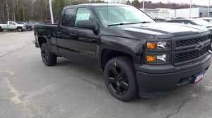100 Blacked Out Truck 2015 Chevrolet Silverado BLACK OUT EDITION AT Emerson Chevrolet